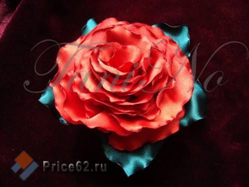 брошь роза крупная, город Рязань