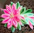 Ободок для девочки Розовый Цветок, город Рязань