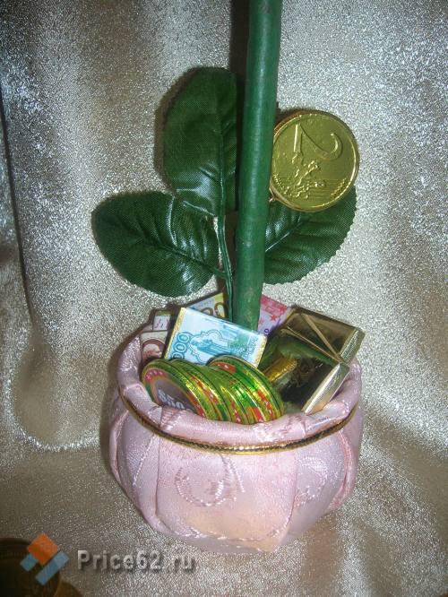сладкий топиарий - денежное дерево, город Рязань