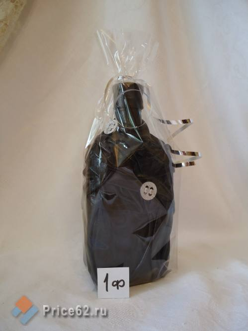 Бутылка декорированная, город Рязань