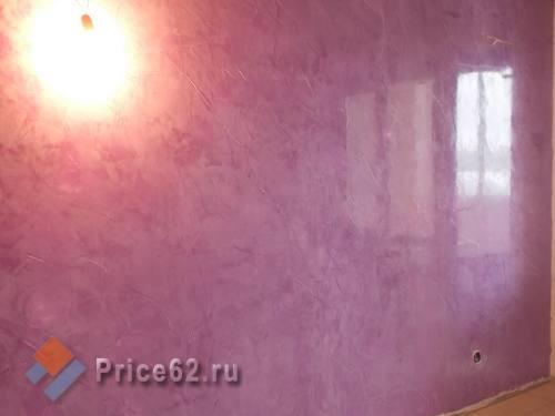 Декоративная штукатурка стен, город Рязань