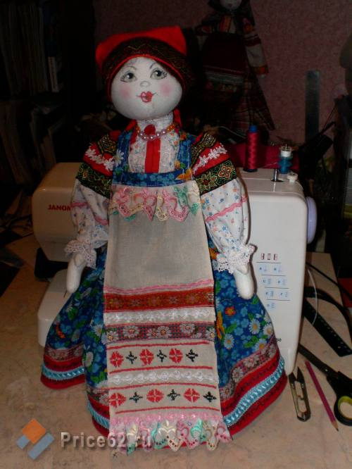 Куклы внародных костюмах, город Рязань