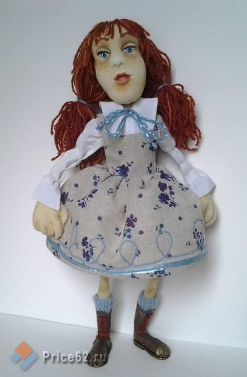 Кукла интерьерная ручной работы., город Рязань